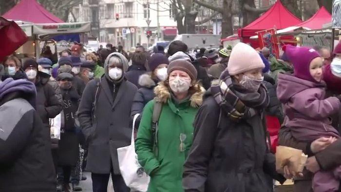 Coronavirus-Mutationen: Merkel für noch härteren Lockdown