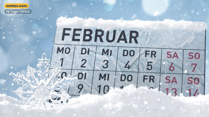 Wetter 16 Tage: Kaltstart in den Februar