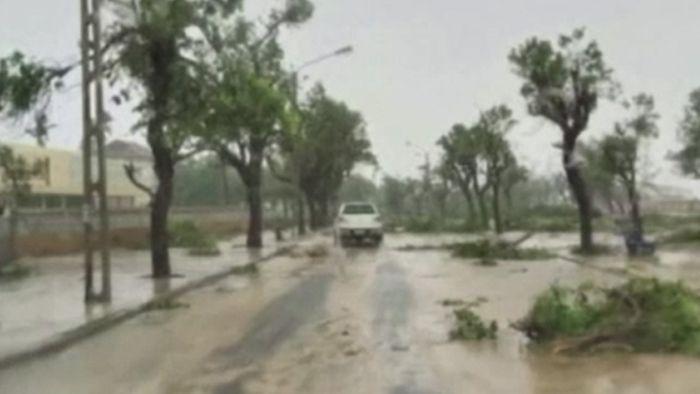 Überschwemmungen drohen! Wirbelsturm erreicht Mosambik