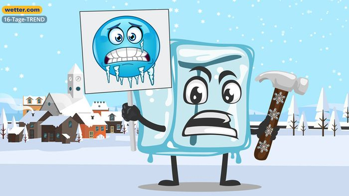 Wetter 16 Tage: Kommt der Kältehammer?
