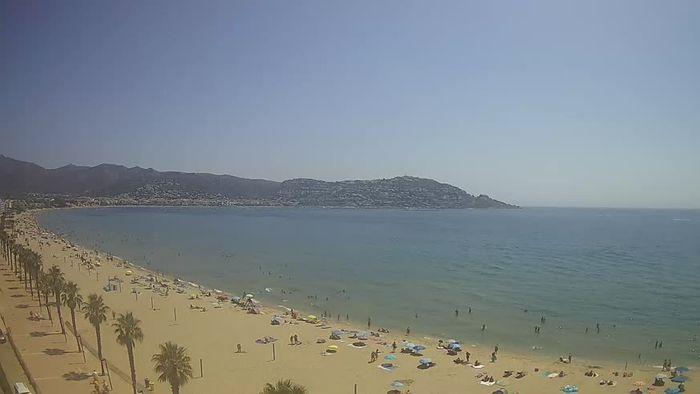 HD Live Webcam Roses - Costa Brava - Platja del Rastell