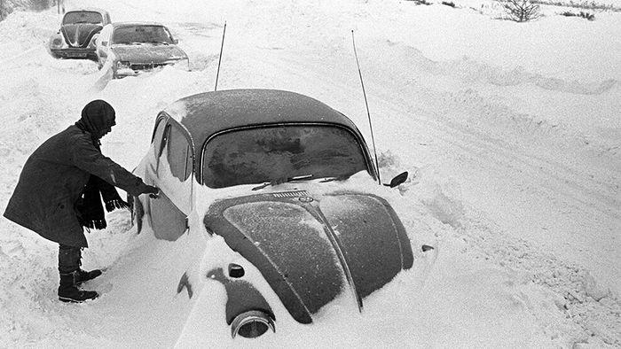 Wetterlage erinnert an Schneewinter 1978/1979