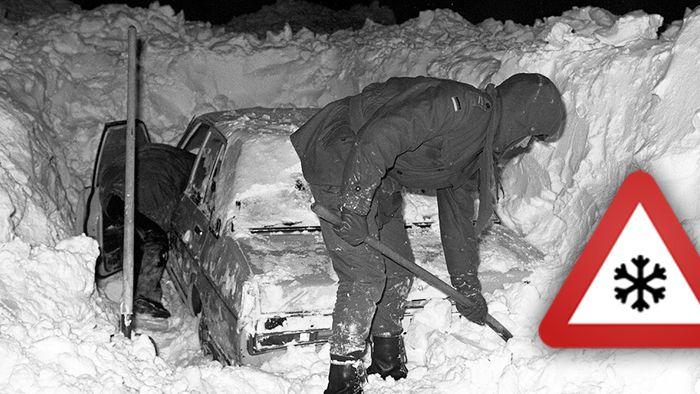 Der Winter 1978/79 gilt als Jahrhundertwinter.