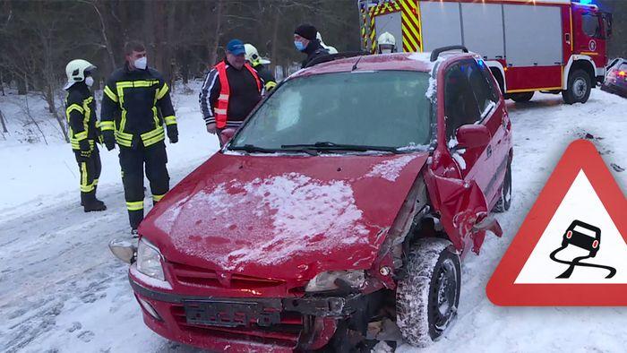 Dramatische Verkehrsunfälle ereignen sich  seit Sonntagabend in vielen Regionen.