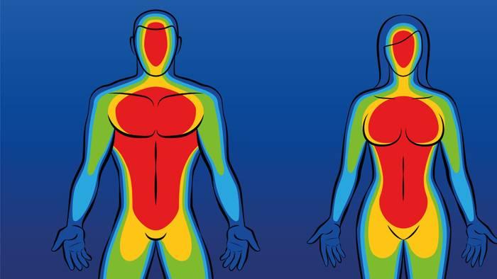 Auf extreme Kälte reagiert unser Körper auf eine bestimmte Art und Weise.