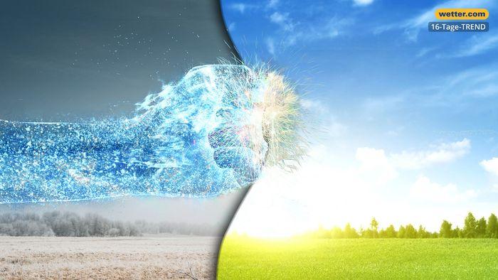 Wetter 16 Tage: Kälterückschlag zum Frühlingsstart?
