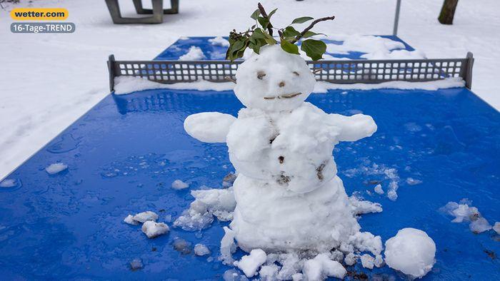 Wetter 16 Tage: Winter noch nicht vom Tisch