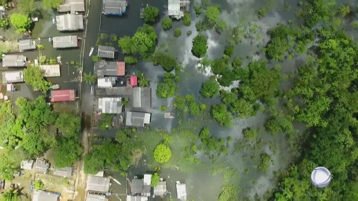 Überschwemmungen in Brasilien: Tausende von Katastrophe betroffen
