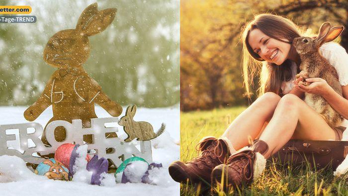 Wetter 16 Tage: Ostern mit Schnee und T-Shirt-Wetter?