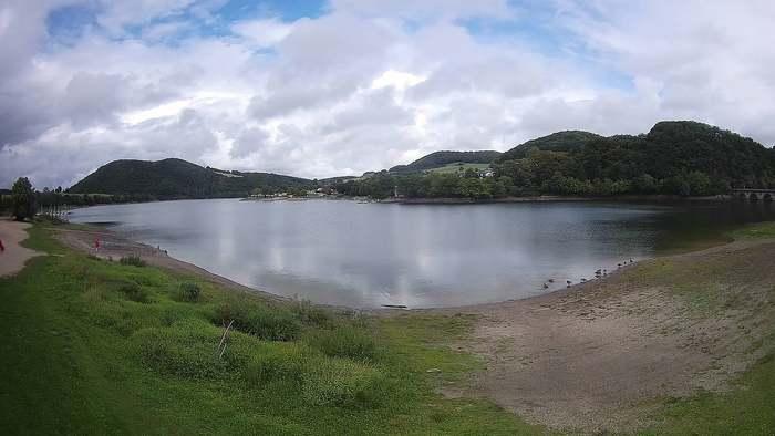 HD Live Webcam Diemelsee - Heringhausen - Campingplatz Seebrücke