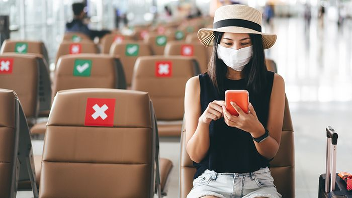 Für Flugreisen gelten nun neu Corona-Regeln.