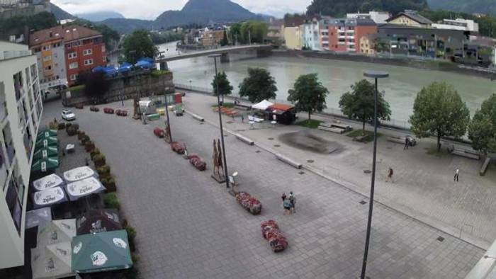 HD Live Webcam Kufstein - Fischergries am Inn