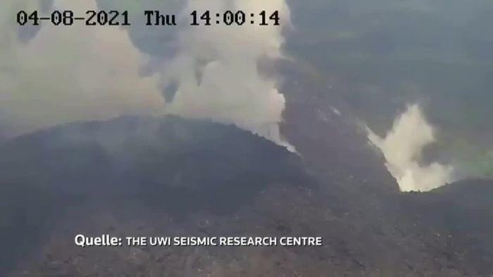 Evakuierung: Vulkan auf St. Vincent vor Ausbruch