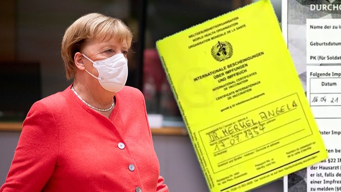 Angela Merkel hat ihre erste Schutzimpfung erhalten.