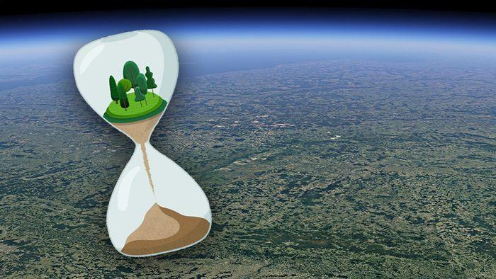 Google Earth hat eine neue Zeitraffer-Funktion.