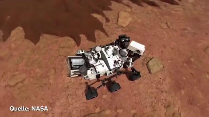 NASA-Premiere: Erster Sauerstoff vom Mars extrahiert