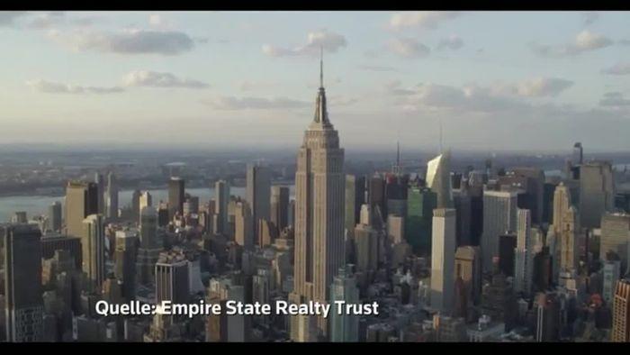 Bunte Historie: Empire State Building wird 90