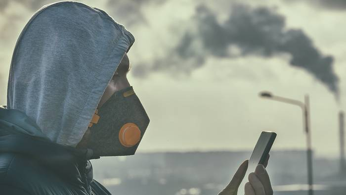 Das Wetter beeinflusst unsere Luftqualität.