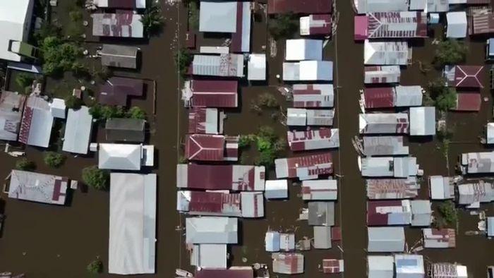 Notstand nach heftigen Überschwemmungen in Brasilien