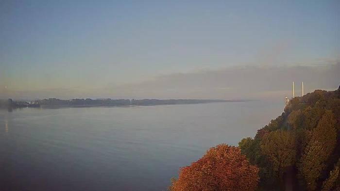 HD Live Webcam Hamburg - Rissen - Leuchtturm Wittenbergen