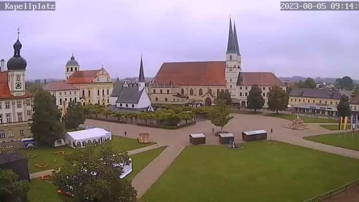 HD Live Webcam Altötting - Kapellplatz
