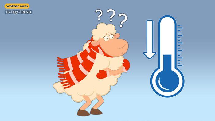 Wetter 16 Tage: Schlägt die Schafskälte zu?