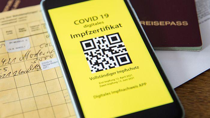 Der digitale Impfnachweis für die Corona-Impfung ist nun via App möglich.