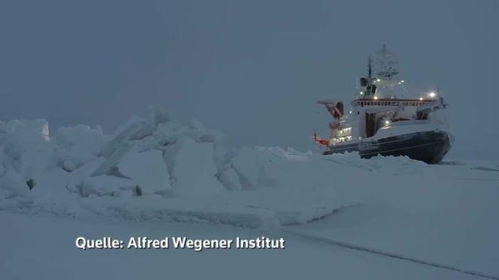 Polarstern-Mission: Lage ist ernst! Erste Ergebnisse präsentiert