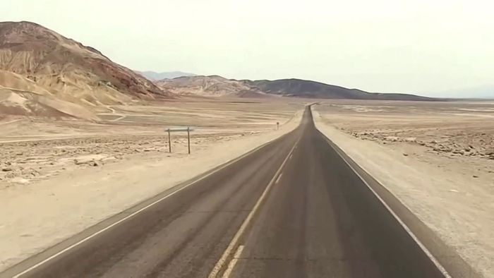 54 Grad Celsius! Sommeranfang im Death Valley