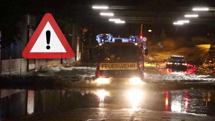 In NRW kam es Samstagnacht zu schweren Gewittern.
