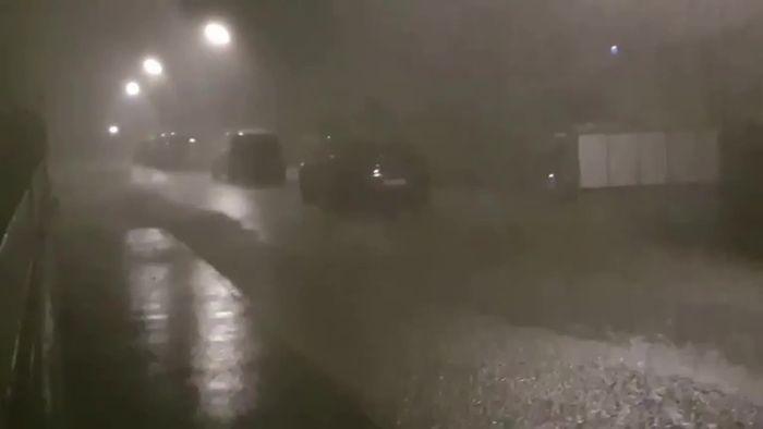 Heftiges Unwetter in München