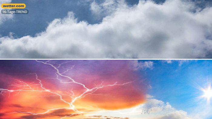 Wetter 16 Tage: Je südlicher, desto mehr Sommer
