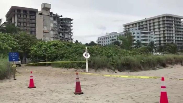Hochhaus-Einsturz in Miami: Fast 100 Menschen vermisst