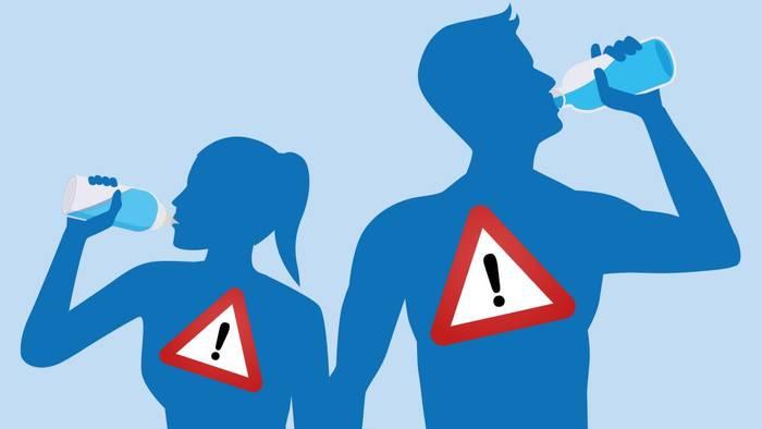 Wenn du zu wenig trinkst, reagiert dein Körper mit Warnsignalen.