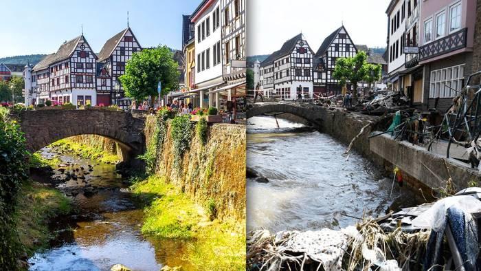 Das Jahrhundert-Hochwasser im Juli 2021 hat verheerende Schäden in mehreren Regionen Deutschlands verursacht.