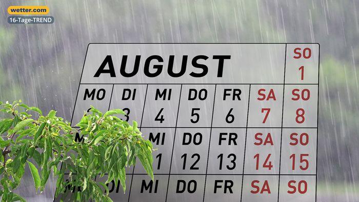 Die Sommerferien gehen unbeständig weiter.