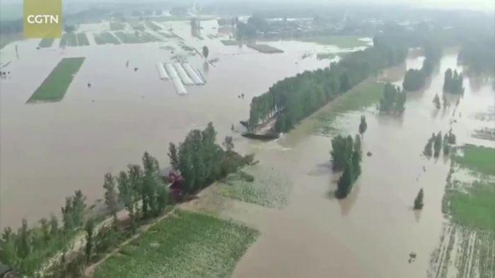 China: Kapitale Schäden nach Jahrtausendereignis