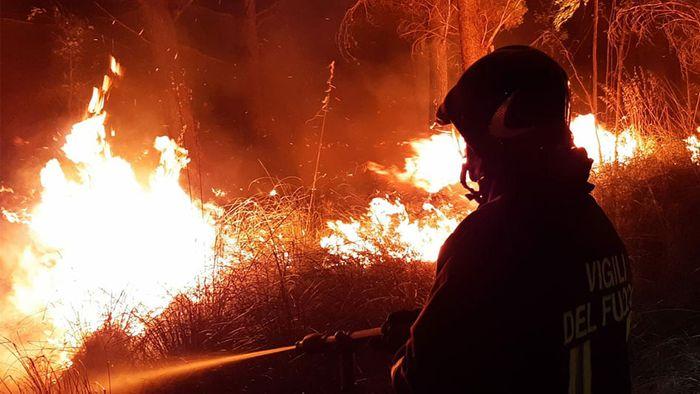 Hitze und verheerende Brände wüten im Mittelmeerraum