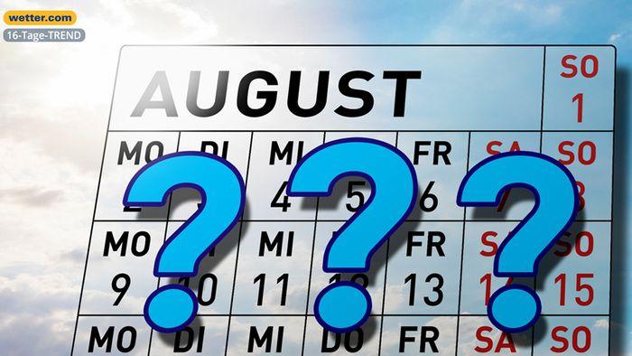 Wetter 16 Tage: So wird die erste Augusthälfte