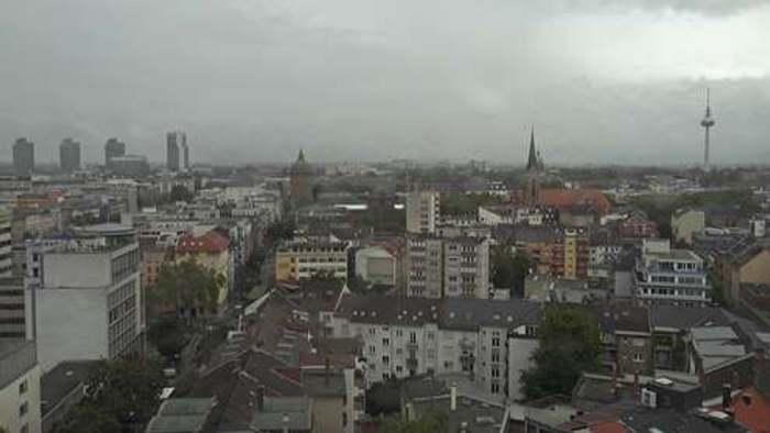 HD Live Webcam Mannheim - Hilton Garden Inn
