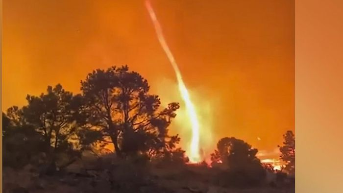 Waldbrände in Kalifornien: Feuerteufel tanzt über dem Tamarack-Feuer