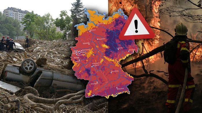 Klimakatastrophen in Deutschland: Diese Regionen werden zu Hotspots
