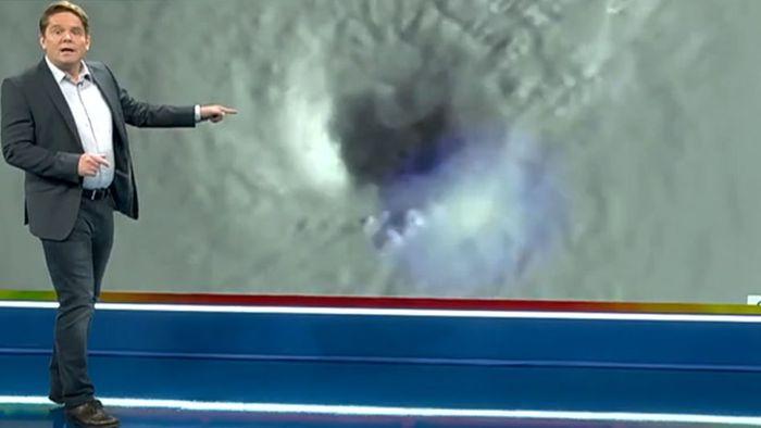 Meteorologe zeigt, wie IDA auf die USA traf