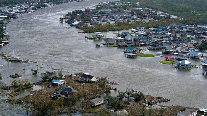 Große Schäden in New Orleans: Hurrikan IDA verwüstet Louisiana