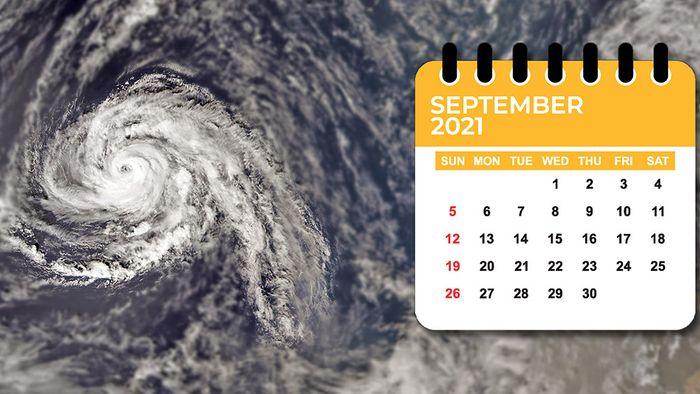 Wetter 16 Tage: Freundlicher Septemberstart! Öffnet Hurrikan die Warmluftdüse?