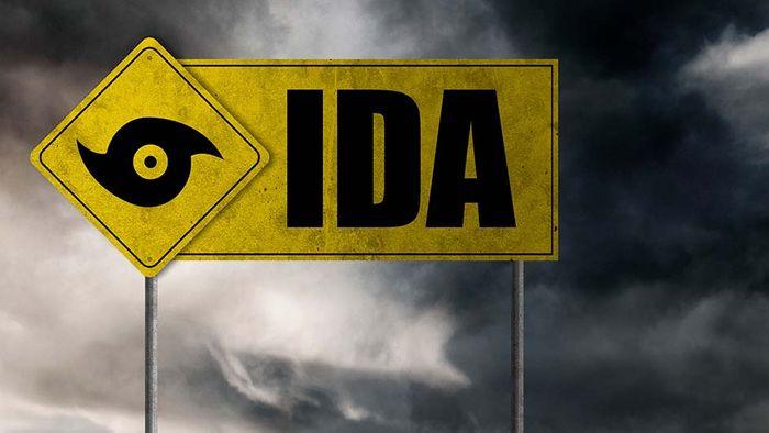 Der Hurrikan IDA hat schwere Schäden und Tote verursacht.