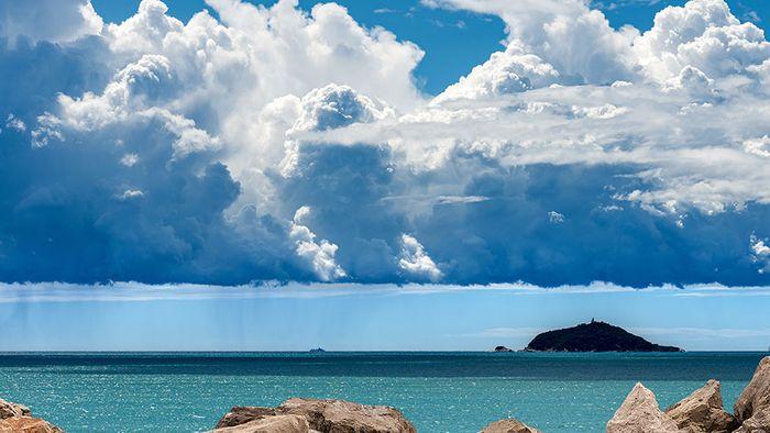 Hohe Wassertemperaturen feuern Unwetter am Mittelmeer an