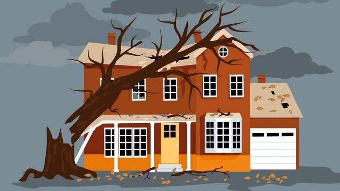 Wer ein Haus hat, kann es mit ein paar Maßnahmen vor Sturmschäden schützen.