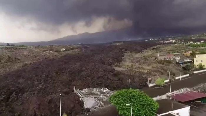 La Palma: Giftige Dämpfe nach Schneise der Zerstörung?