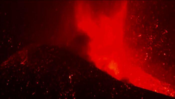 Vulkanausbruch auf La Palma: Behörden warnen vor Schwefeldioxidwolke